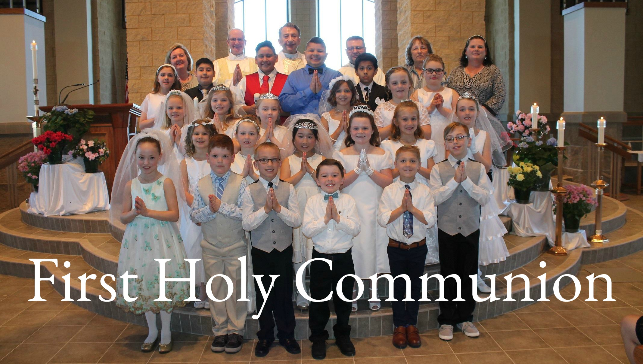first communion all saints catholic parish